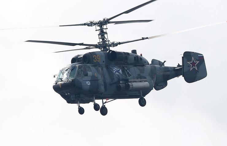 Trực thăng quân sự Nga rơi trên biển Baltic