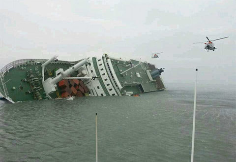 Thảm họa chìm phà giết hàng trăm học sinh Hàn Quốc