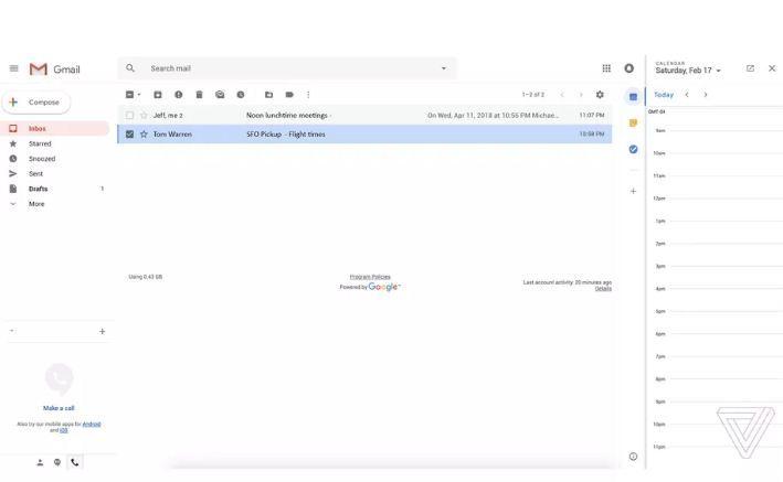 Gmail chuẩn bị thay giao diện hoàn toàn mới