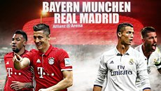 Real Madrid đại chiến Bayern, Salah gặp lại Roma