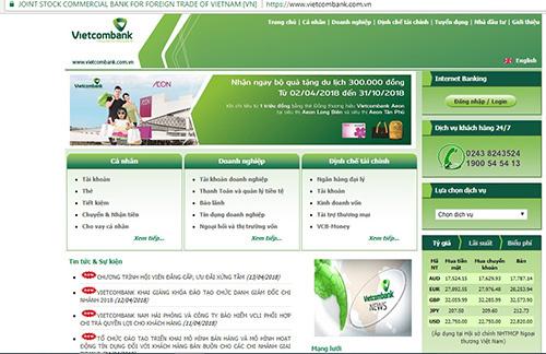 'Website của Vietcombank an toàn'