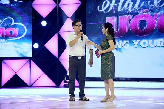 MC Thanh Vân xúc động trước cảnh đời của họa sĩ khuyết tật