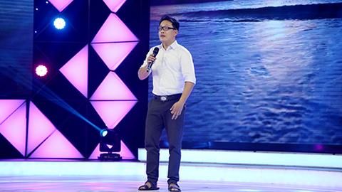 Hát mãi ước mơ: Ốc Thanh Vân ngấn lệ trước câu chuyện họa sĩ khuyết tật hát cho con trai bị hở van tim