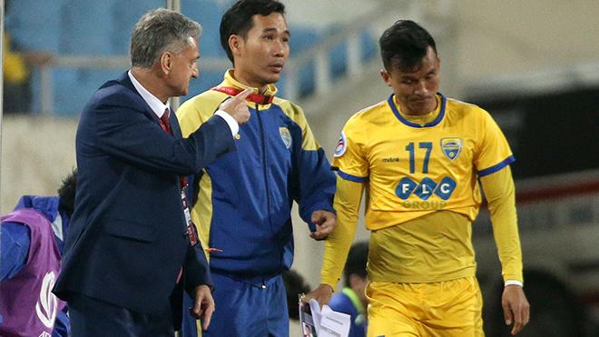 V-League,FLC Thanh Hoá,HAGL,Kiatisuk