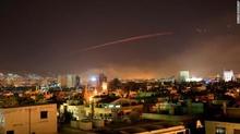 Mỹ, Anh, Pháp đồng loạt tấn công Syria