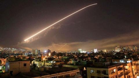 Lực lượng phòng không Syria bắn hạ tên lửa Tomahawk