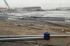 Hải Phòng: Hoảng loạn tháo chạy khi 5.000 m2 nhà xưởng đổ sập
