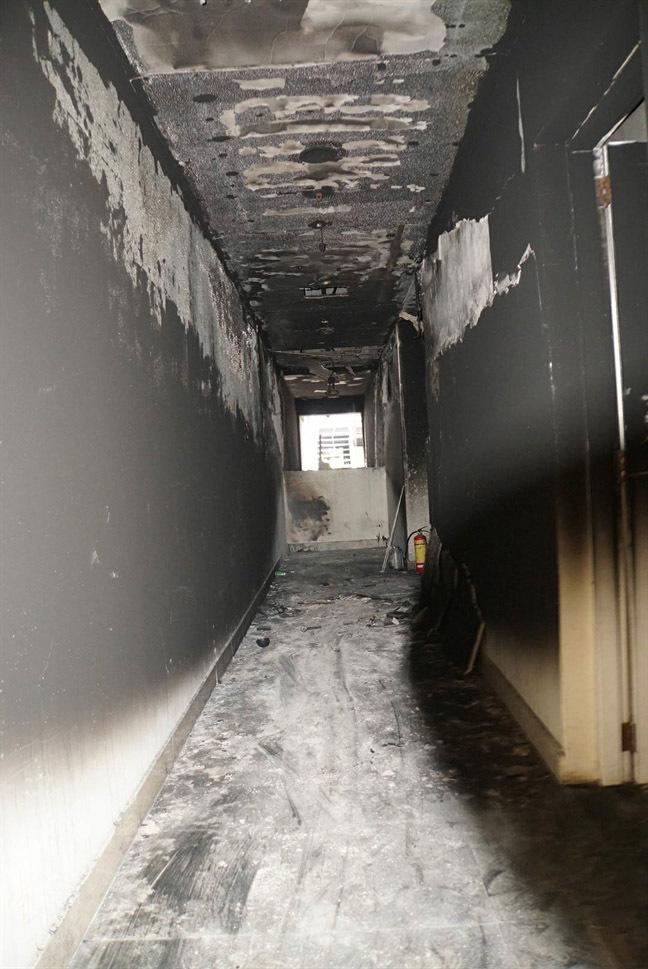 Cháy chung cư Carina Plaza,chung cư Carina Plaza,Carina Plaza,cháy chung cư