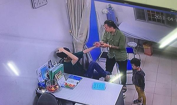 bác sĩ bị đánh,đánh bác sĩ,Bệnh viện Xanh Pôn,hành hung bác sĩ,an ninh bệnh viện