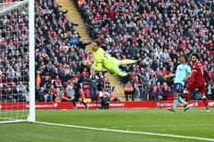 """Salah """"nổ súng"""", Liverpool đè bẹp Bournemouth"""