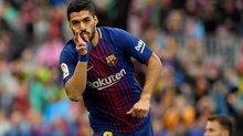 Suarez lóe sáng, Barca lập kỷ lục bất bại ở La Liga
