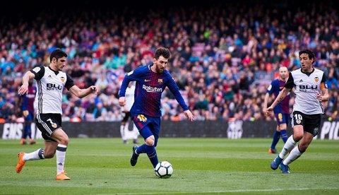 Barcelona 2-1 Valencia