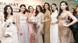 Hai hoa hậu đẹp nhất thế giới đọ sắc với dàn người đẹp Việt