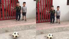 Nhổ răng theo phong cách nghiện bóng đá của bố
