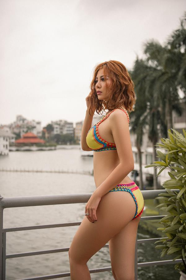 Thanh Hương 'Người phán xử' mặc bikini khoe đường cong nóng bỏng
