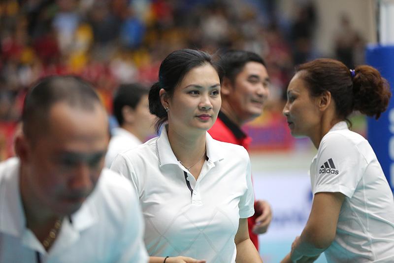 Kim Huệ,bóng chuyền VĐQG 2018