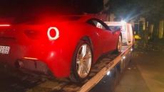 Siêu xe 16 tỷ của ca sĩ Tuấn Hưng gặp nạn trong đêm