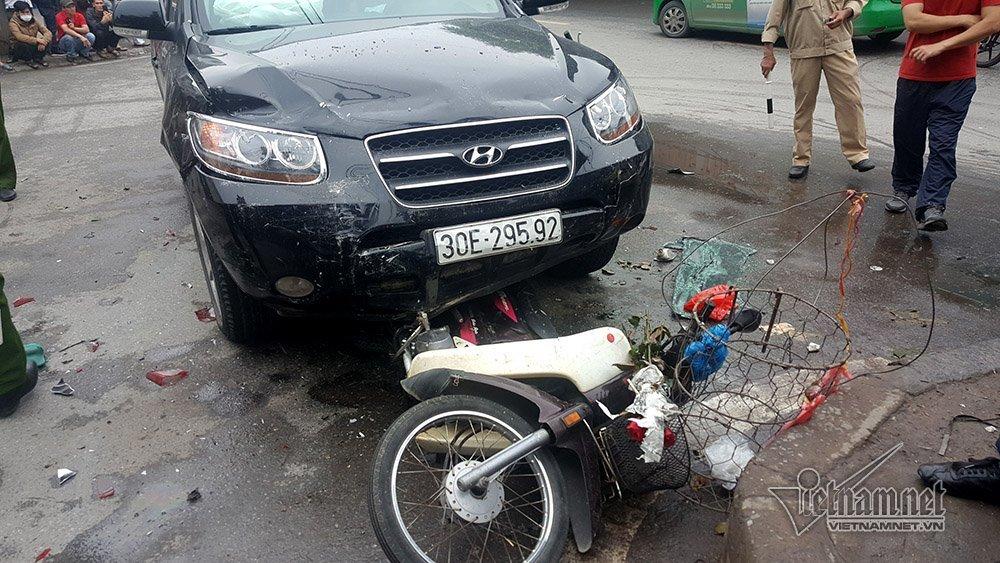 tai nạn,tai nạn giao thông,tai nạn liên hoàn,Hà Nội,Bệnh viện Bạch Mai