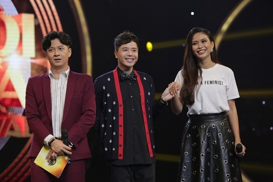 Kim Samuel nói 'Anh yêu em' khiến Diệu Nhi đỏ mặt trên truyền hình