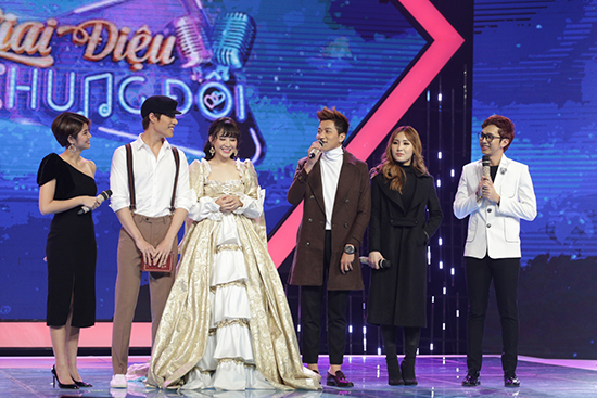 Giai điệu chung đôi,Jin Ju,Jsol,Yến Tatoo,Minh Hằng,Trịnh Thăng Bình