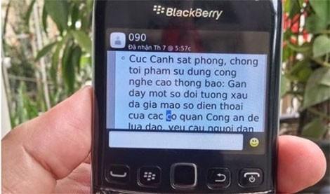 lừa đảo,mạo danh công an,Hà Nội