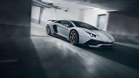 Bản xe độ độc đáo dựa trên siêu xe Lamborghini Aventador S