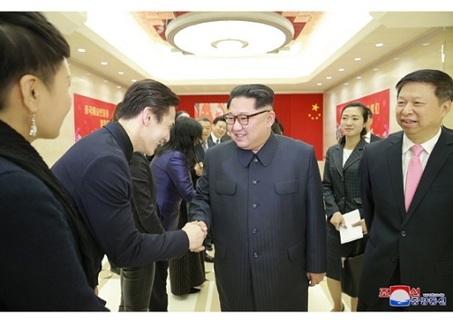 Kim Jong Un mở đại tiệc đón đoàn nghệ thuật Trung Quốc
