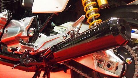 Mẫu xe độ từ bản Honda CB1100 với gói nâng cấp Doremi