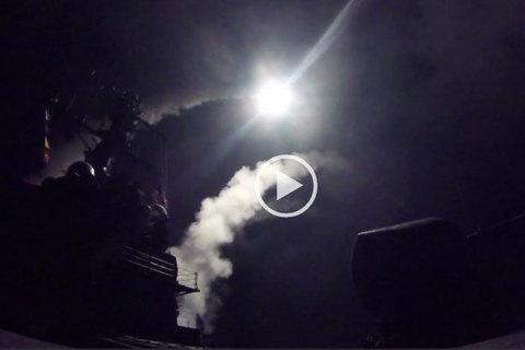 Tên lửa Tomahawk từ tàu khu trục