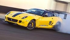 Xem xe độ Ferrari 599 GTB được làm lại drift