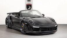 Xe độ Porsche 911 mui trần dát vàng, vỏ carbon