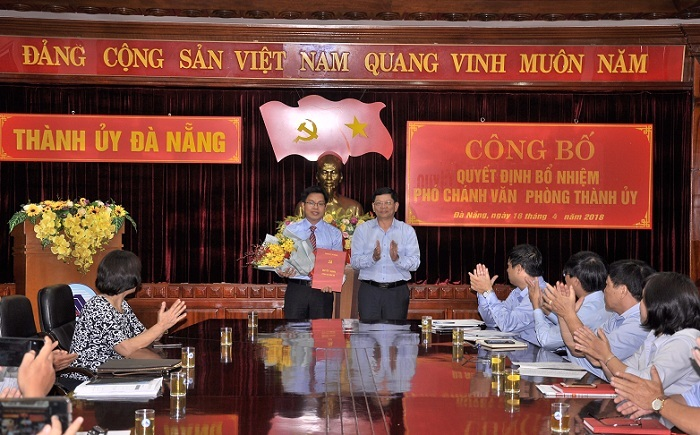 Thành ủy Đà Nẵng bổ nhiệm cán bộ chủ chốt