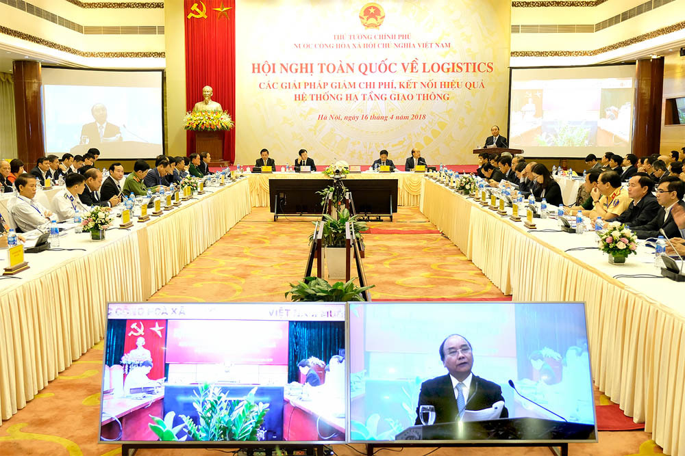 Thủ tướng Nguyễn Xuân Phúc,Nguyễn Xuân Phúc,logistics