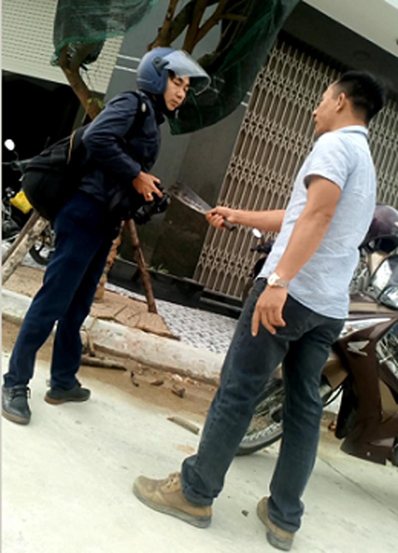 hành hung phóng viên,Bình Định,giết người