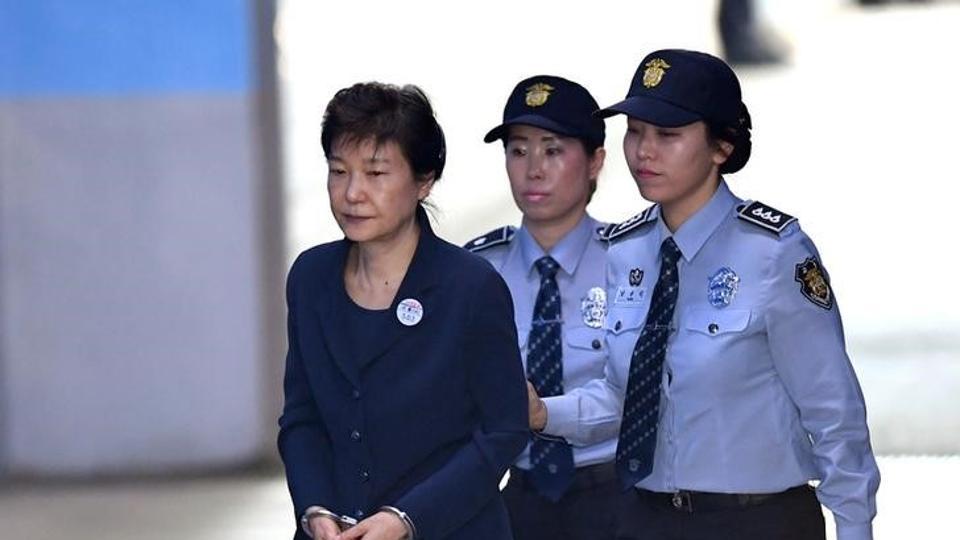 Park Geun-hey,cựu tổng thống,Hàn Quốc,tham nhũng