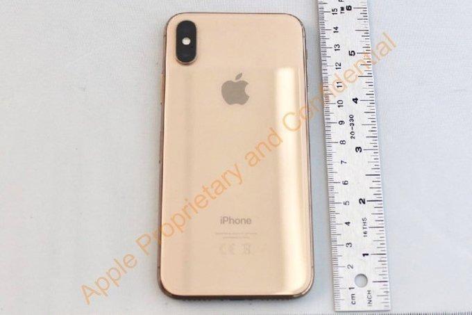 [VietnamNet.vn] Lộ diện iPhone X bản Gold: Bí mật chưa từng công bố