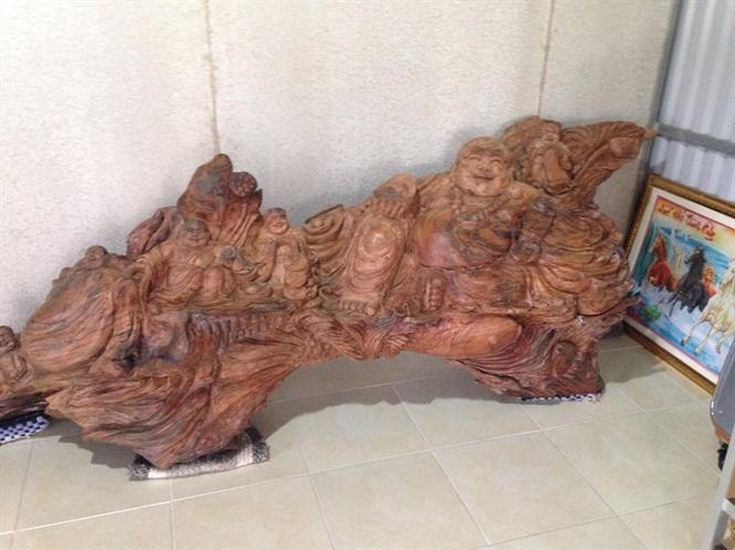 Đào được khúc gỗ sưa quý hiếm ở vuông tôm, giá 1,5 tỷ chưa bán