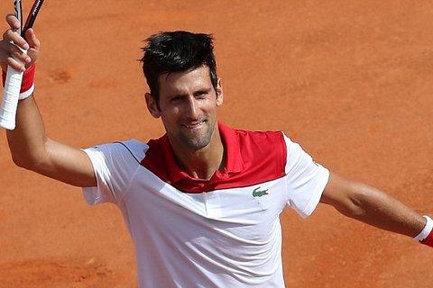 Novak Djokovic 2-0 Dusan Lajovic