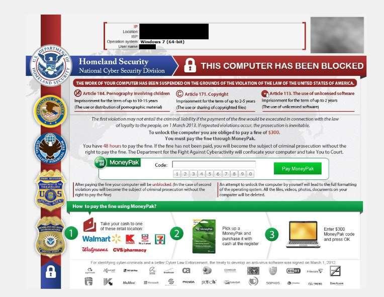 mã độc tống tiền,Microsoft
