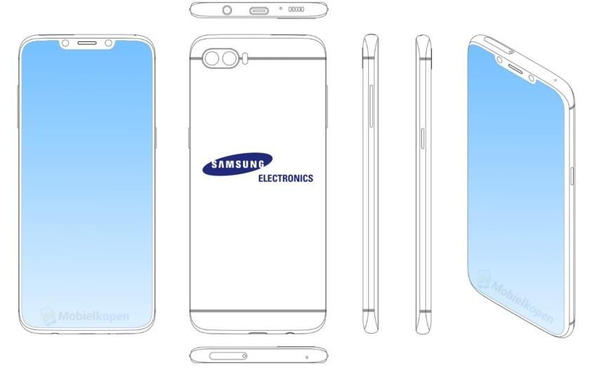 điện thoại Samsung,màn hình điện thoại,Samsung,bằng sáng chế