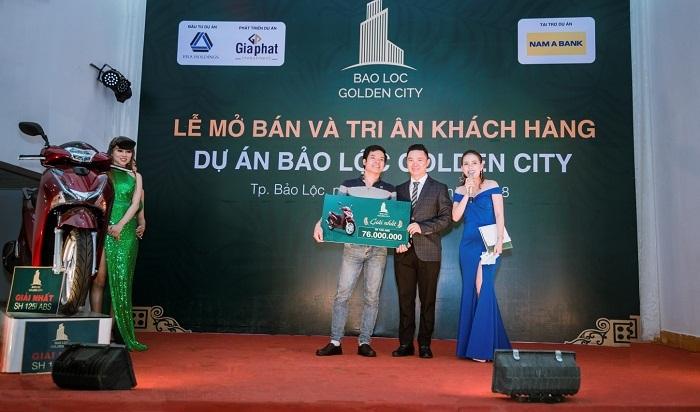 'Cháy hàng' ngày mở bán Bảo Lộc Golden City