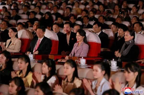 vợ Kim Jong Un,Ri Sol-ju,đệ nhất phu nhân,Triều Tiên