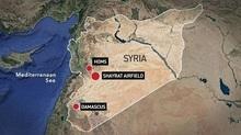 Syria lại bị nã tên lửa chưa rõ từ đâu