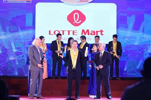 2 năm liên tiếp LOTTE Mart nhận giải Rồng Vàng - ảnh 1