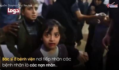 Sự thực vụ tấn công hóa học ở Syria qua lời bác sĩ