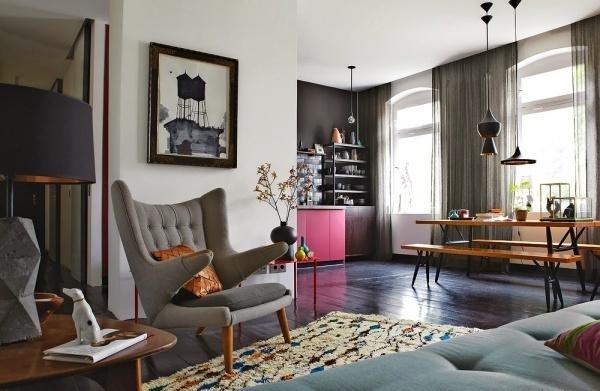 Bí quyết phân chia không gian cho căn hộ nhỏ hoá rộng rãi, thoáng mát