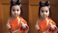 Cô bé lai 2 tuổi xinh đẹp như thiên thần