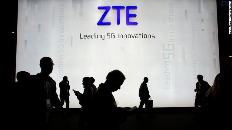 công ty Trung Quốc,ZTE