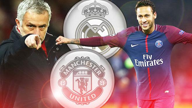 MU,Man City,Neymar,Salah,Real Madrid,Barca