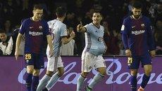 Bị đuổi người, Barcelona đánh rơi chiến thắng